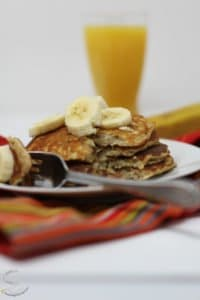 Delicious Banana Pancakes
