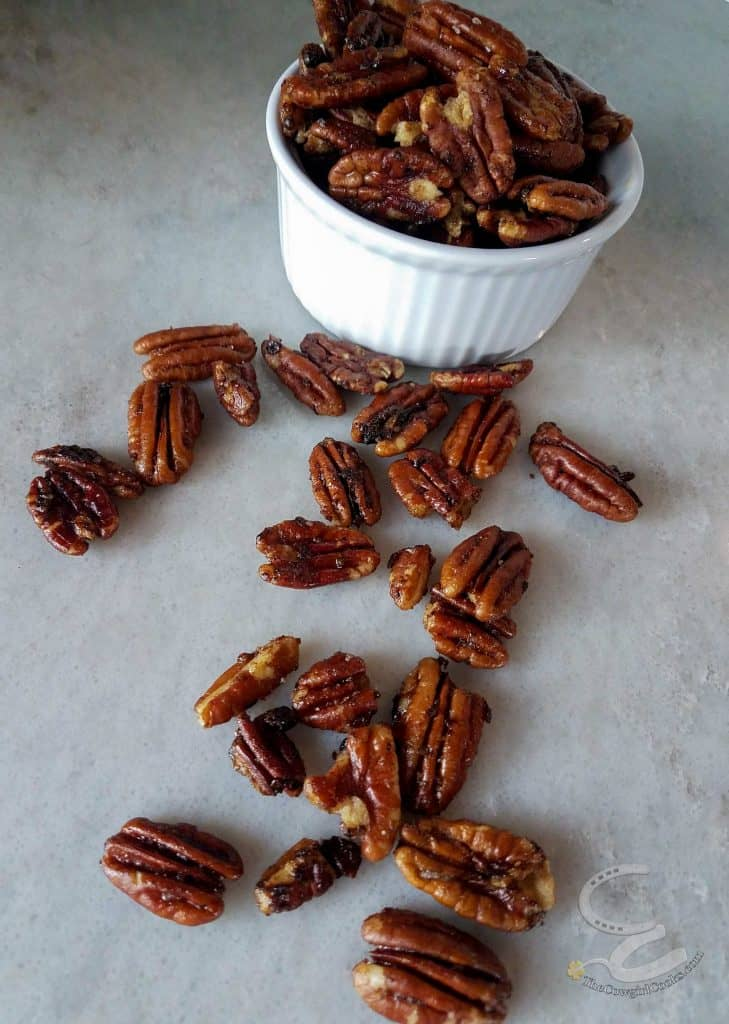 Sweet and Spicy Glazed nuts